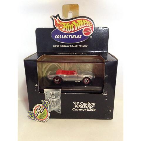 Hot Wheels - 68 Custom Firebird Convertible Prata - Black Box - Collectibles