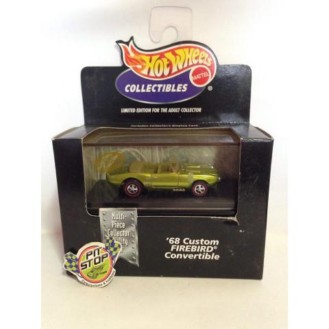 Hot Wheels - 68 Custom Firebird Convertible Verde - Black Box - Collectibles