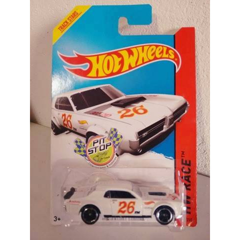 Hot Wheels - 68 Mercury Cougar Branco - Mainline 2014