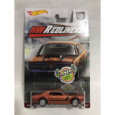 Hot Wheels - 68 Mercury Cougar - HW Redliners - Car Culture