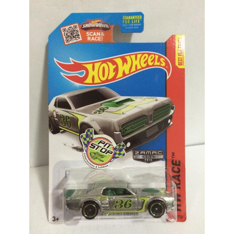 Hot Wheels - 68 Mercury Cougar - Zamac 011 - 2015