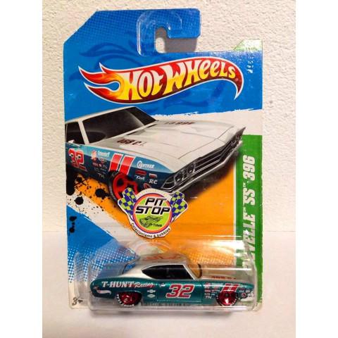 Hot Wheels - 69 Chevelle SS 396 Azul - Treasure Hunt 2012