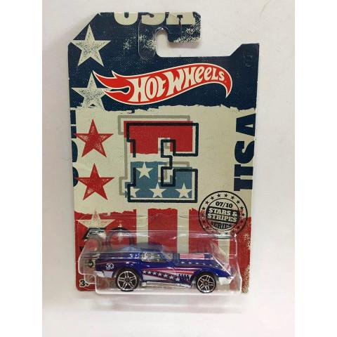 Hot Wheels - 69 Chevrolet Corvette Azul - Hot Wheels 50th