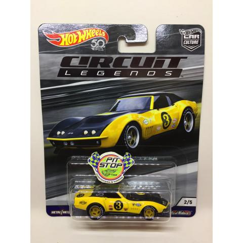 Hot Wheels - 69 Copo Corvette - Car Culture - Circuit Legends