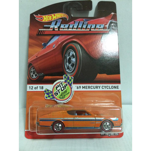 Hot Wheels - 69 Mercury Ciclone - Heritage - Redline