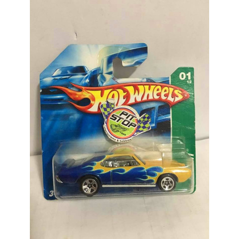 Hot Wheels - 69 Pontiac GTO - Thunt Normal 2007