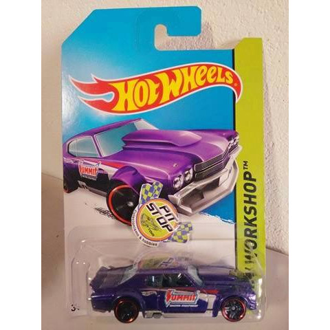 Hot Wheels - 70 Chevy Chevelle Roxo - Mainline 2014