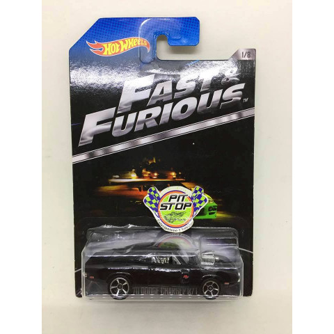 Hot Wheels - 70 Dodge Charger R/T Preto - Fast & Furious