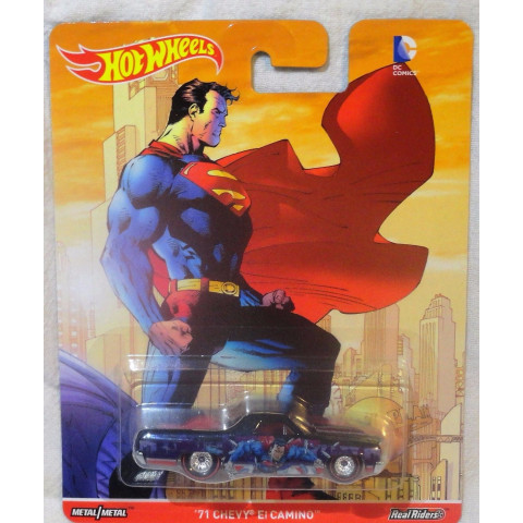 Hot Wheels - 71 Chevy El Camino - Superman - DC Comics