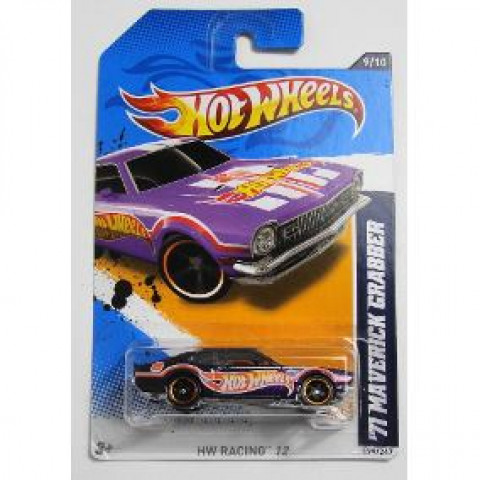 Hot Wheels - 71 Maverick Grabber Roxo - Mainline 2012