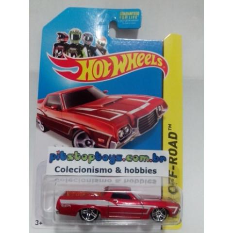 Hot Wheels - 72 Ford Ranchero Vermelho - Mainline 2014
