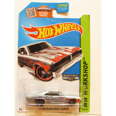 Hot Wheels - 74 Brazilian Dodge Charger - Zamac 008 - 2015