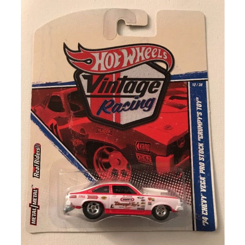 Hot Wheels - 74 Chevy Vega Pro Stock Grumpys Toy - Vintage Racing