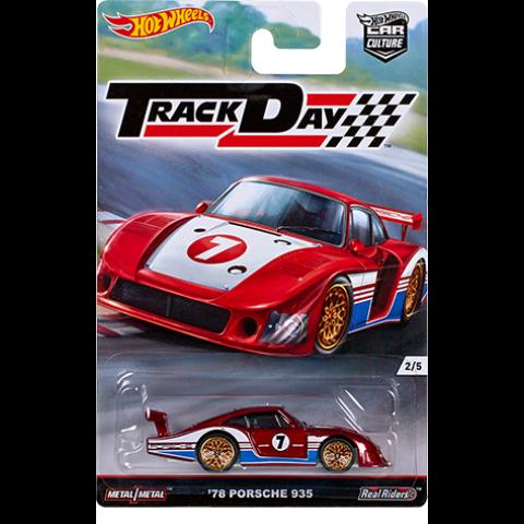 Hot Wheels - 78 Porsche 935 - Track Day - Car Culture