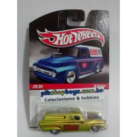Hot Wheels - 8 Crate Verde - Série Delivery