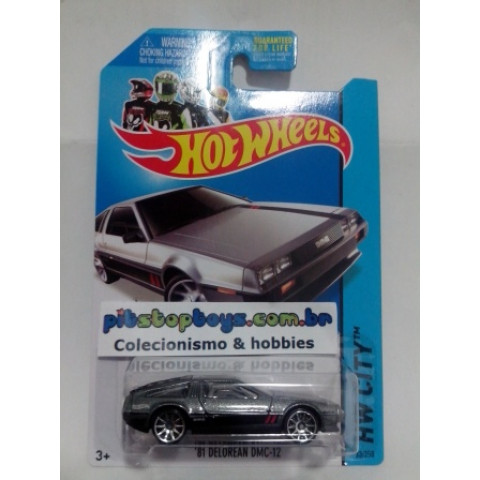 Hot Wheels - 81 Delorean DMC-12 - Mainline 2014