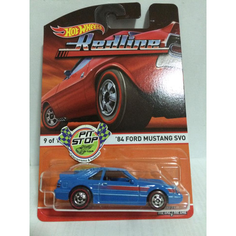 Hot Wheels - 84 Ford Mustang - Heritage - Redline