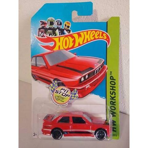 Hot Wheels - 92 BMW M3 Vermelho - Mainline 2014