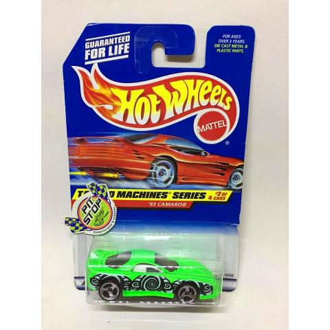 Hot Wheels - 93 Camaro Verde - Mainline 1998
