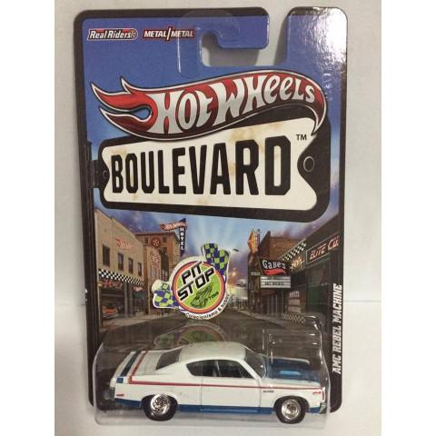 Hot Wheels - AMC Rebel Machine Branco - Boulevard