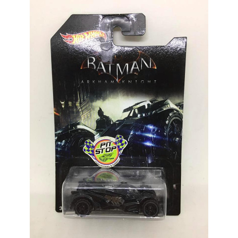 Hot Wheels - Arkham Knight Batmobile Preto - Batman Arkham Knight