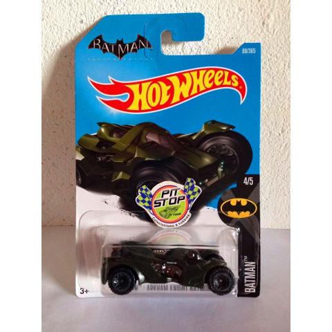 Hot Wheels - Arkham Knight Batmobile Verde - Mainline 2016