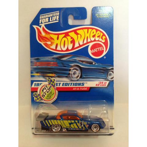 Hot Wheels - At-A-Tude Azul - Mainline 1998