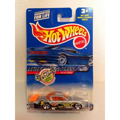 Hot Wheels - At-a-Tude Cinza - Mainline 2000