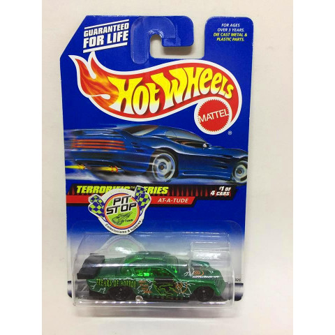 Hot Wheels - At-A-Tude Verde - Mainline 1999