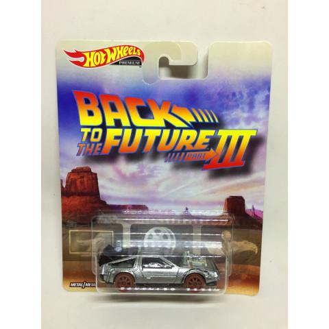 Hot Wheels - Back to The Future - 1955 Prata - Back To The Future III
