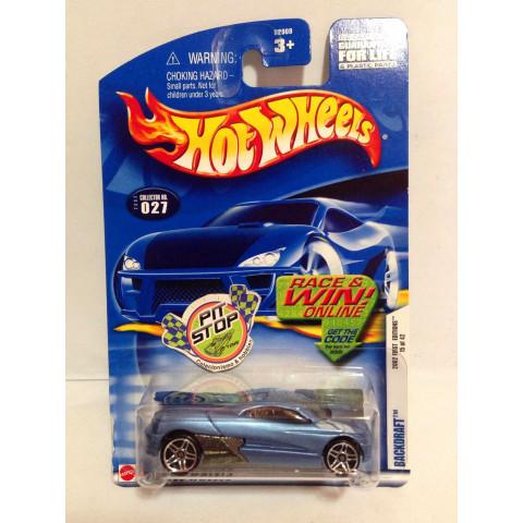 Hot Wheels - Backdraft Azul - Mainline 2002
