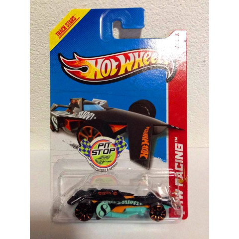 Hot Wheels - Bad To The Blade Preto - Treasure Hunt 2013