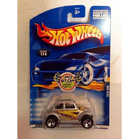 Hot Wheels - Baja Bug Prata - Mainline 2001