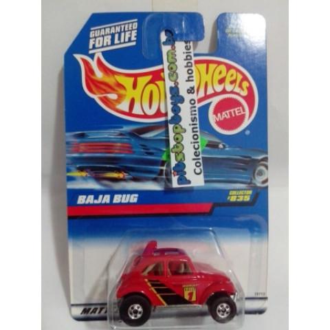 Hot Wheels - Baja Bug Vermelho - Mainline 1998