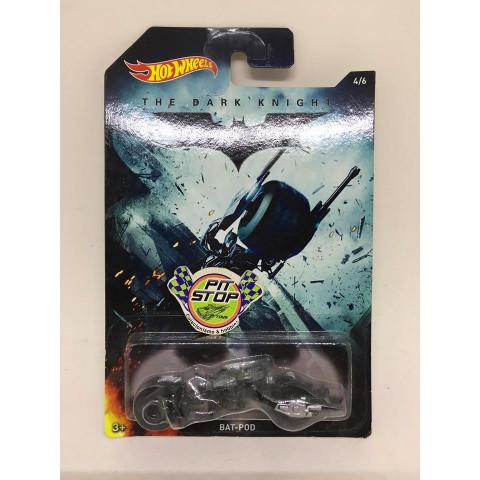 Hot Wheels - Bat-Pod Preto - The Dark Knight