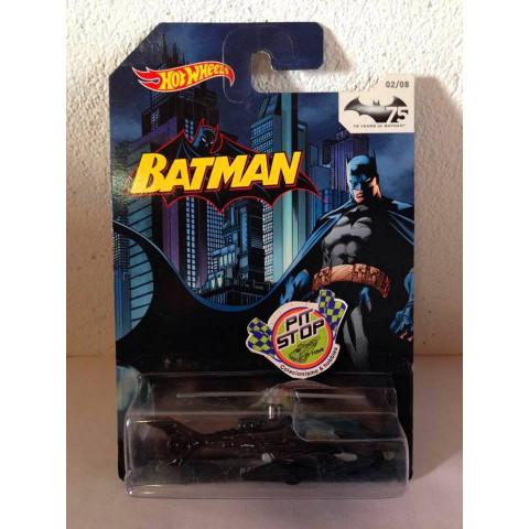 Hot Wheels - Batcopter Preto - 75 Years of Batman