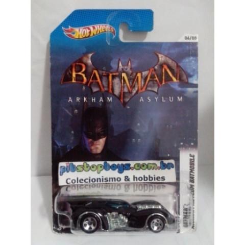 Hot Wheels - Batman: Preto Arkham Asylum Batmobile