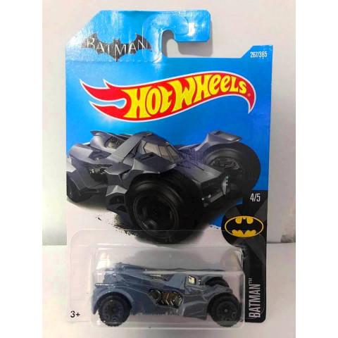 Hot Wheels - Batman Arkham Knight Batmobile Cinza - Mainline 2017