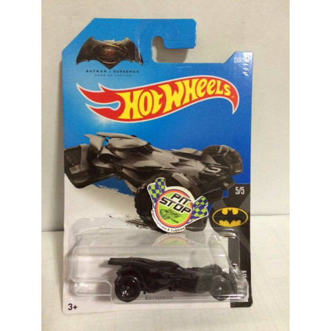 Hot Wheels - Batman Batmobile - Batman vs SuperMan - Mainline 2016