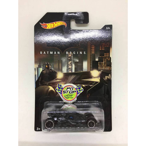 Hot Wheels - Batman Begins Batmobile Preto - Batman Begins