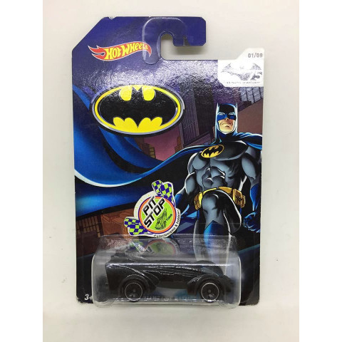 Hot Wheels - Batman Live Batmobile Preto - 75 Years of Batman
