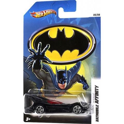 Hot Wheels - Batmobile Affinity Preto