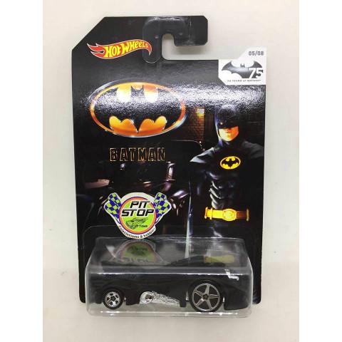 Hot Wheels - Batmobile Preto - Batman 75 Years of Batman