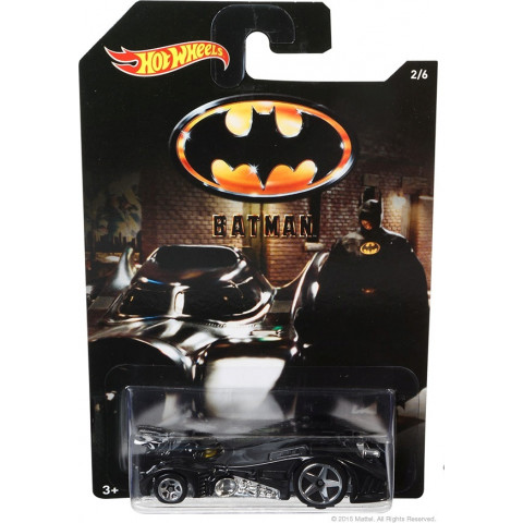Hot Wheels - Batmobile Preto - Batman