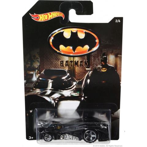 Hot Wheels - Batmobile Preto - Batman
