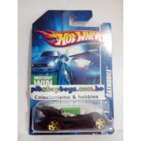 Hot Wheels - Batmobile Preto - Mainline 2006 (Cartela Longa)