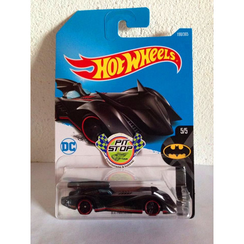 Hot Wheels - Batmobile Preto - Mainline 2017