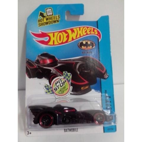 Hot Wheels - Batmobile Preto/Vermelho - Mainline 2014