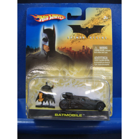 Hot Wheels - Batmobile - Tumbler - Batman Begins