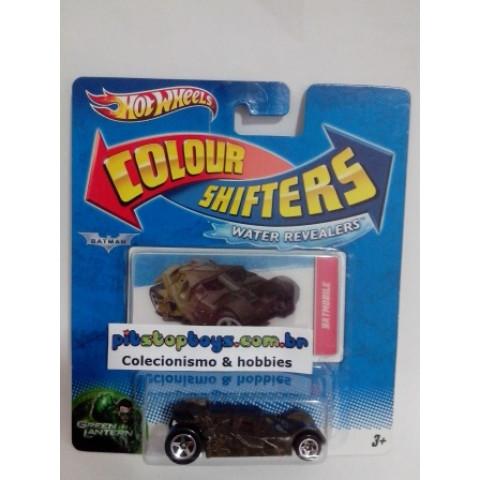Hot Wheels - Batmobile - Tumbler - Color Shfters